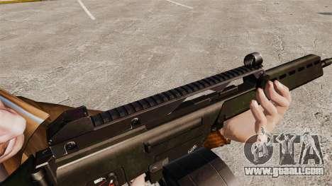 MG36 H&K v2 assault rifle for GTA 4 forth screenshot