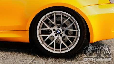 BMW 1M Coupe 2011 Fujiwara Tofu Shop Sticker for GTA 4 inner view