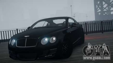 Bentley Continental GT Hamann Imperator for GTA 4 right view