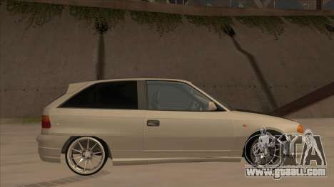 Opel Astra F DRP for GTA San Andreas back left view