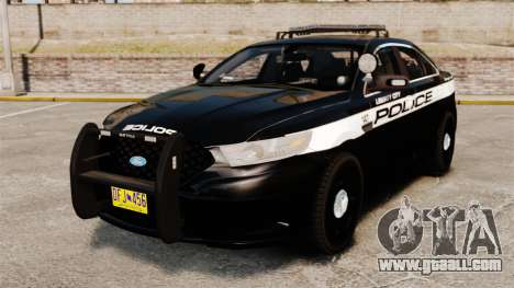 Ford Taurus Police Interceptor 2013 LCPD [ELS] for GTA 4