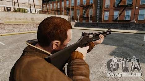 Tactical shotgun Fabarm SDASS Pro Forces v1 for GTA 4 second screenshot