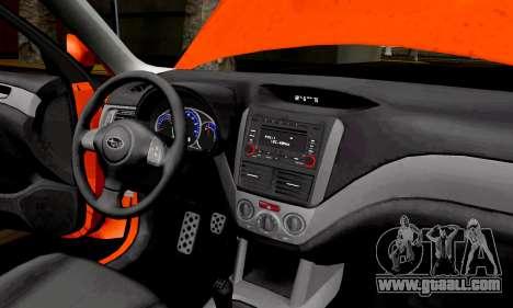 Subaru Forester RRT Sport 2008 v2.0 for GTA San Andreas