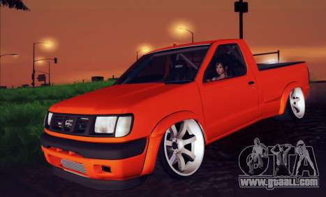 Nissan Frontier D22 for GTA San Andreas right view