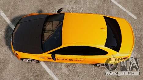 BMW 1M Coupe 2011 Fujiwara Tofu Shop Sticker for GTA 4 back view