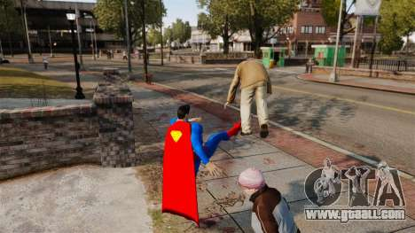 Script For Superman for GTA 4 third screenshot