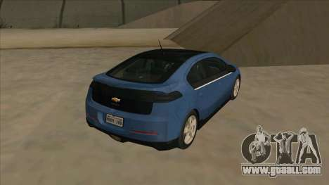 Chevrolet Volt 2011 [ImVehFt] v1.0 for GTA San Andreas right view