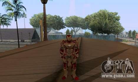 Skins Pack - Iron man 3 for GTA San Andreas twelth screenshot