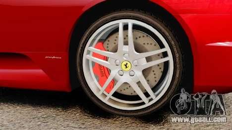 Ferrari F430 2005 for GTA 4 right view