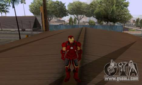 Skins Pack - Iron man 3 for GTA San Andreas seventh screenshot