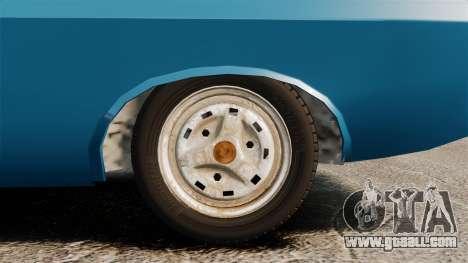 Dacia 1310 Sport v1.2 for GTA 4 back view