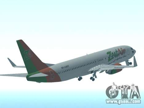 Boeing 737-800 Zest Air for GTA San Andreas