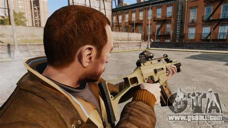 HK G36c for GTA 4 second screenshot