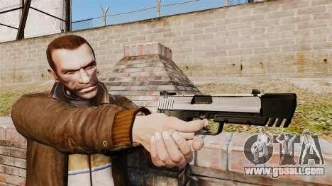 Self-loading pistol USP H&K v6 for GTA 4