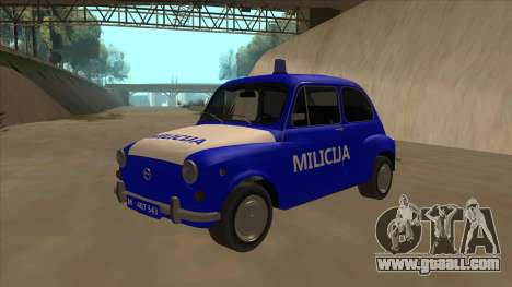 Zastava 750 Milicija for GTA San Andreas