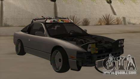 Nissan 240SX Rat for GTA San Andreas left view