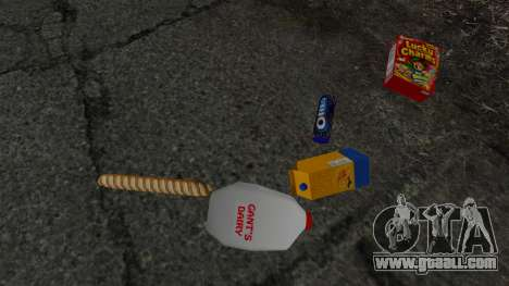 New food products for GTA 4