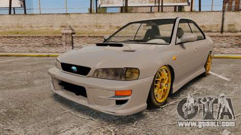 Subaru Impreza WRX STI 1999 [Final] for GTA 4