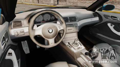 BMW M3 E46 for GTA 4 inner view