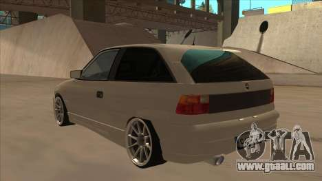 Opel Astra F DRP for GTA San Andreas back view