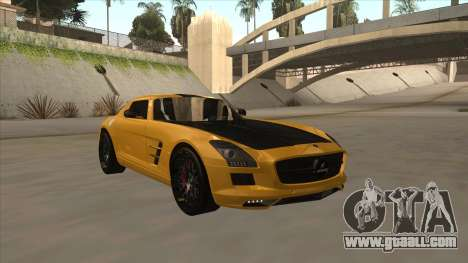 Mercedes SLS AMG Hamann 2010 V1.0 for GTA San Andreas left view