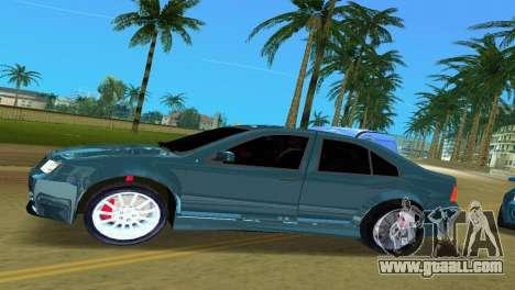 Volkswagen Bora for GTA Vice City left view