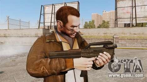Magpul FMG submachine gun-9 for GTA 4