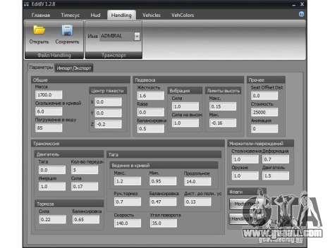Edit lV v1.2.8 for GTA 4