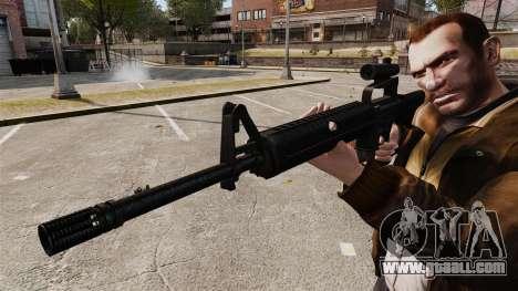 M16 A2 for GTA 4 forth screenshot