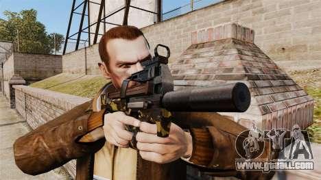 Belgian FN P90 submachine gun v6 for GTA 4 third screenshot