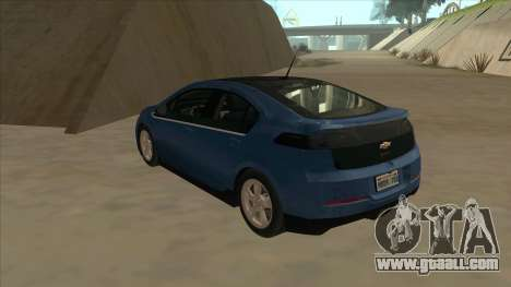 Chevrolet Volt 2011 [ImVehFt] v1.0 for GTA San Andreas back view