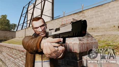 Self-loading pistol USP H&K v6 for GTA 4 third screenshot