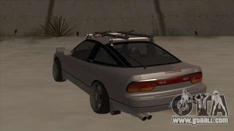 Nissan 240SX Rat for GTA San Andreas back view