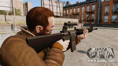 M16 A2 for GTA 4 second screenshot