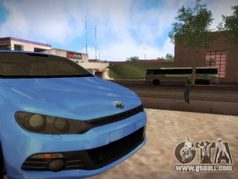 Volkswagen Scirocco for GTA San Andreas left view
