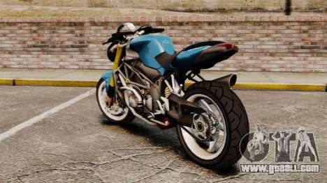MV Agusta Brutale v2 for GTA 4 left view