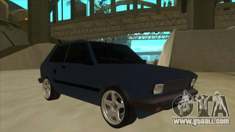Zastava Yugo 1.1 for GTA San Andreas left view