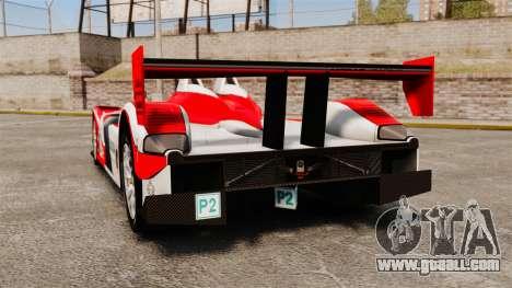 Porsche RS Spyder Evo for GTA 4 back left view