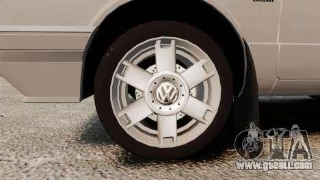 Volkswagen Citi Golf Velociti 2008 for GTA 4 back view