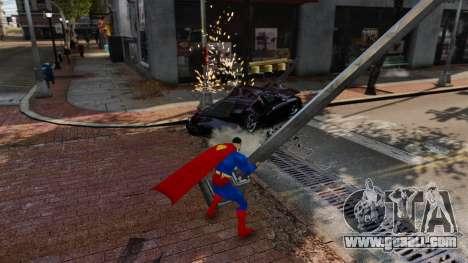 Script For Superman for GTA 4 sixth screenshot