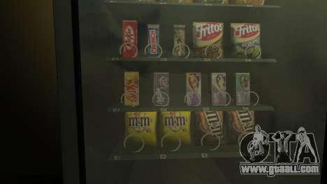 New snèkovyj vending machine for GTA 4 second screenshot