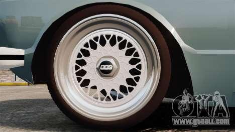 Volkswagen Brasilia for GTA 4 back view
