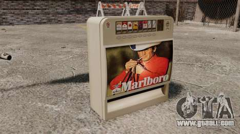 New vending machine selling cigarettes for GTA 4 third screenshot
