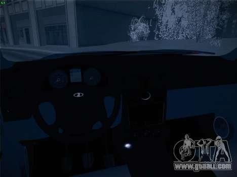 VAZ-2170 for GTA San Andreas upper view