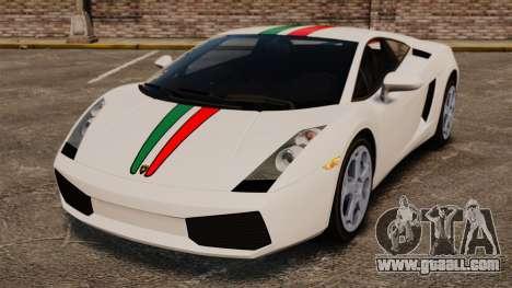 Lamborghini Gallardo 2005 [EPM] Italian for GTA 4