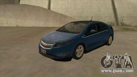 Chevrolet Volt 2011 [ImVehFt] v1.0 for GTA San Andreas