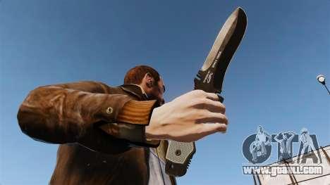 Tactical knife v5 for GTA 4 third screenshot