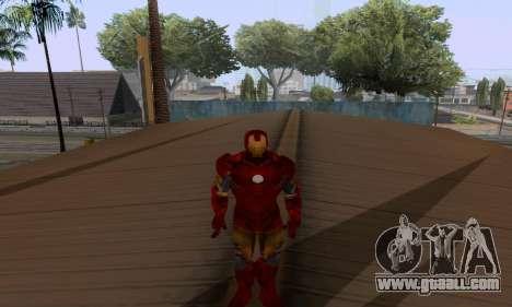 Skins Pack - Iron man 3 for GTA San Andreas ninth screenshot