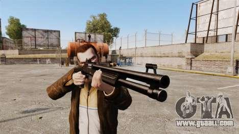 Tactical shotgun Fabarm SDASS Pro Forces v1 for GTA 4 third screenshot