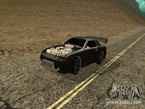 Elegy by PiT_buLL for GTA San Andreas left view